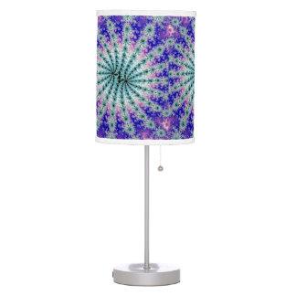 Lámpara del arte del fractal