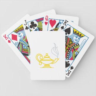 Lámpara del conocimiento cartas de juego
