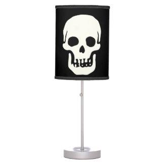 Lámpara del cráneo del gótico