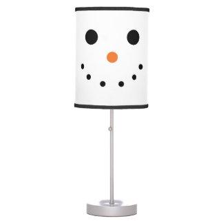 Lámpara del día de fiesta del muñeco de nieve