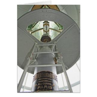 Lámpara del faro tarjeta de felicitación