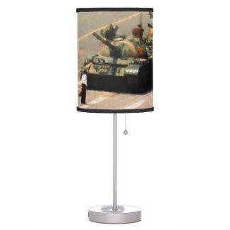Lámpara del hombre del tanque