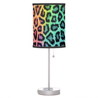 Lámpara del leopardo del arco iris