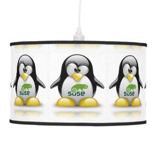 lámpara del logotipo de Linux del openSuzie