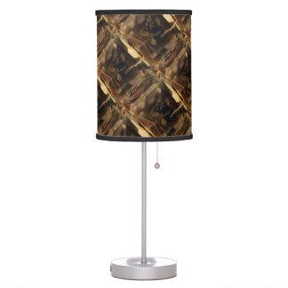 Lámpara del modelo de Camo de la piedra preciosa (