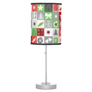 Lámpara del modelo del navidad con saludos video