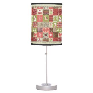 Lámpara del modelo del vintage del navidad con