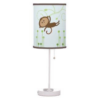 Lámpara del mono {cuarto de niños}