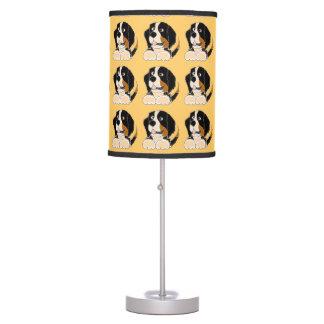 Lámpara del perro de montaña de Bernese