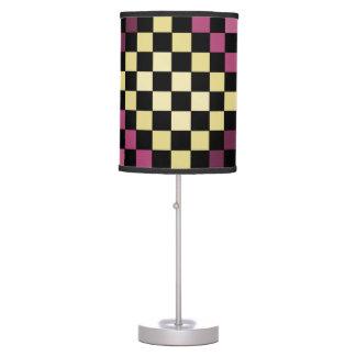 Lámpara del tablero de ajedrez del tablero de dama