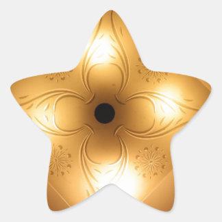 Lámpara del techo - cuadrado con 4 luces pegatinas forma de estrella