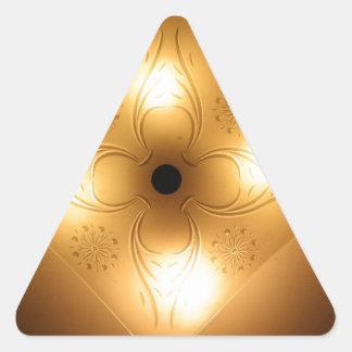 Lámpara del techo - cuadrado con 4 luces pegatinas trianguloes