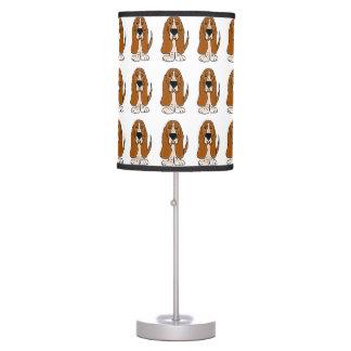 Lámpara divertida del perro de Basset Hound