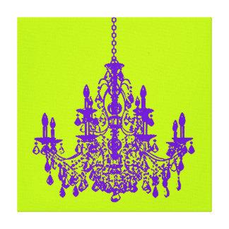 Lámpara diy del color de fondo de PixDezines/crist Impresiones En Lona