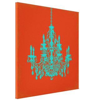 Lámpara diy del color de fondo de PixDezines/crist Lona Estirada Galerías