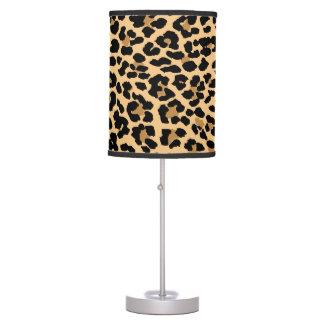 Lámpara elegante del estampado leopardo