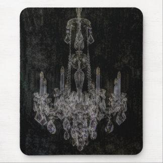 Lámpara elegante lamentable del vintage mousepad