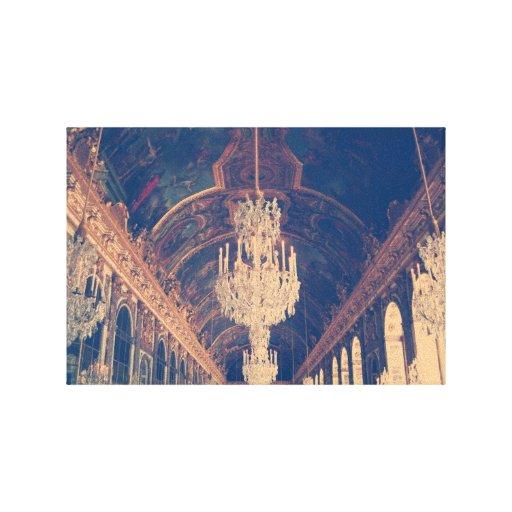 Lámpara elegante y del vintage lienzo envuelto para galerías