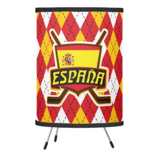Lámpara española del logotipo del hockey sobre