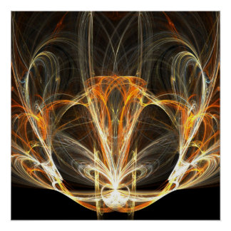 Lámpara espiritual - poster