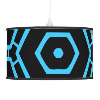Lámpara futurista del fiesta