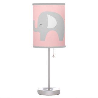 Lámpara gris del sitio del cuarto de niños del ele