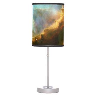 Lámpara impresa nebulosa de Omega