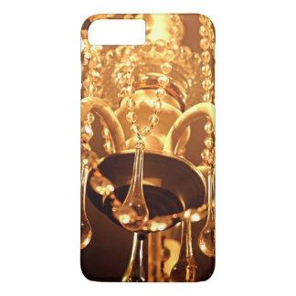 Lámpara lamentable Bling 1-Gold-iPhone 7 más Funda iPhone 7 Plus