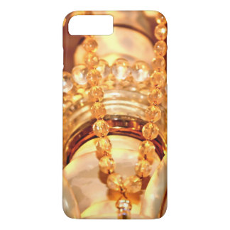 Lámpara lamentable Bling 4-Gold-iPhone 7 más Funda iPhone 7 Plus