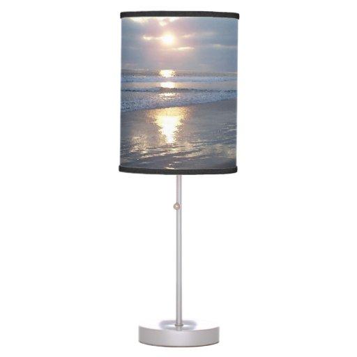 Lámpara ligera de la playa