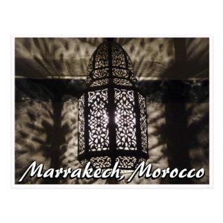 Lámpara marroquí postales
