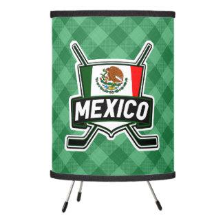 Lámpara mexicana del logotipo del hockey sobre