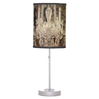 lámpara moderna del cristal del vintage del damasc