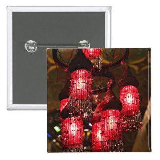 Lámpara para la venta, bazar del EL Khalili de Kha Pin