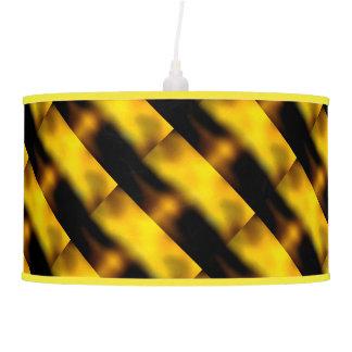 Lámpara pendiente con diseño de la puesta del sol