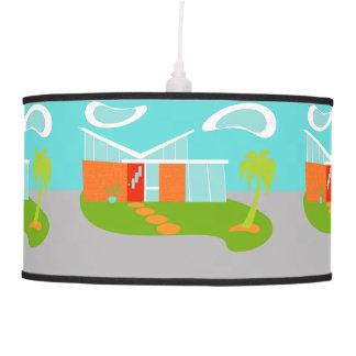 Lámpara pendiente de la casa moderna del dibujo
