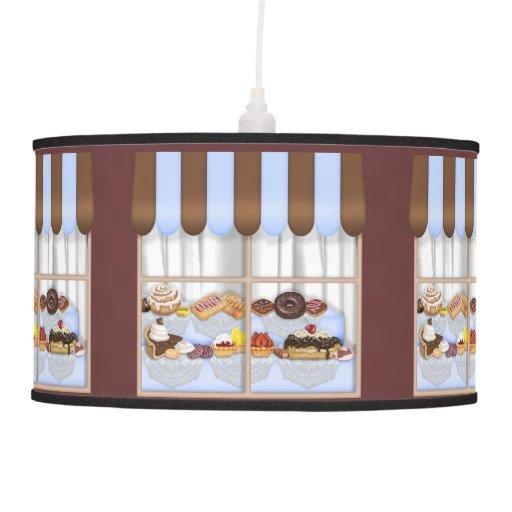 Lámpara pendiente de la panadería dulce de la invi