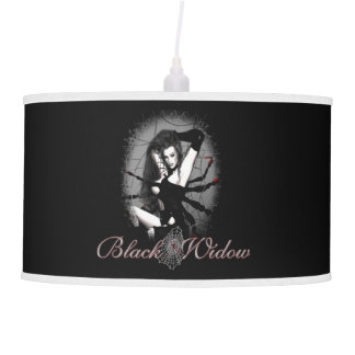 Lámpara pendiente de la viuda negra