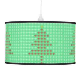 Lámpara pendiente de los árboles de navidad del