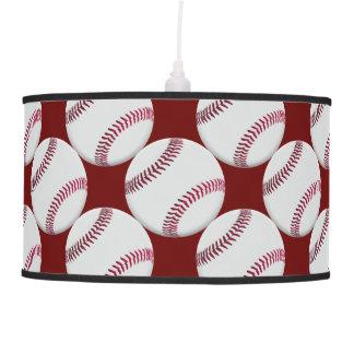 Lámpara pendiente del béisbol