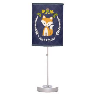 Lámpara personalizada guirnalda del Fox del bebé -