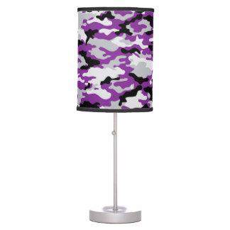 Lámpara púrpura del camuflaje de CAMO