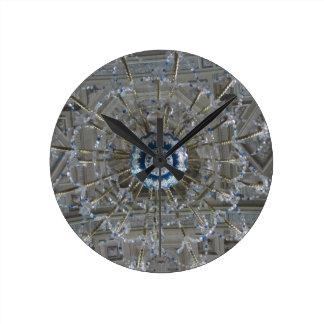 lámpara reloj redondo mediano