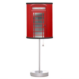 Lámpara roja de CallBox del teléfono de Londres