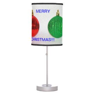 LÁMPARA ROJA y verde del bulbo del navidad