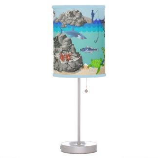 Lámpara subacuática de la historia del océano