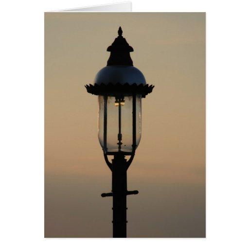 Lámpara Tarjeta De Felicitación