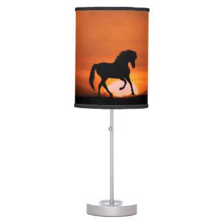Lámpara totalmente linda del amante del caballo