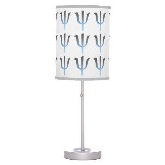 Lámpara única del símbolo de la psicología