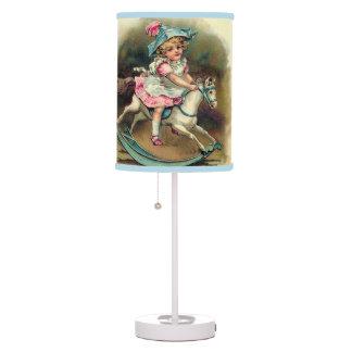 Lámparas de mesa de los niños del vintage